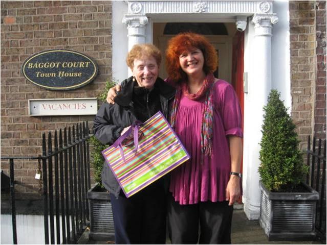 Dommer Shiela Murphy og Mette ved Internationale NADA-konference i Dublin 2011