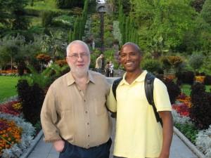 Michael Smith og den tidligere formand for NADA-USA Kenneth Carter, 2012