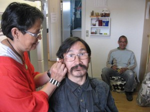 NADA på værestedet for psykisk sårbare i Illulissat.