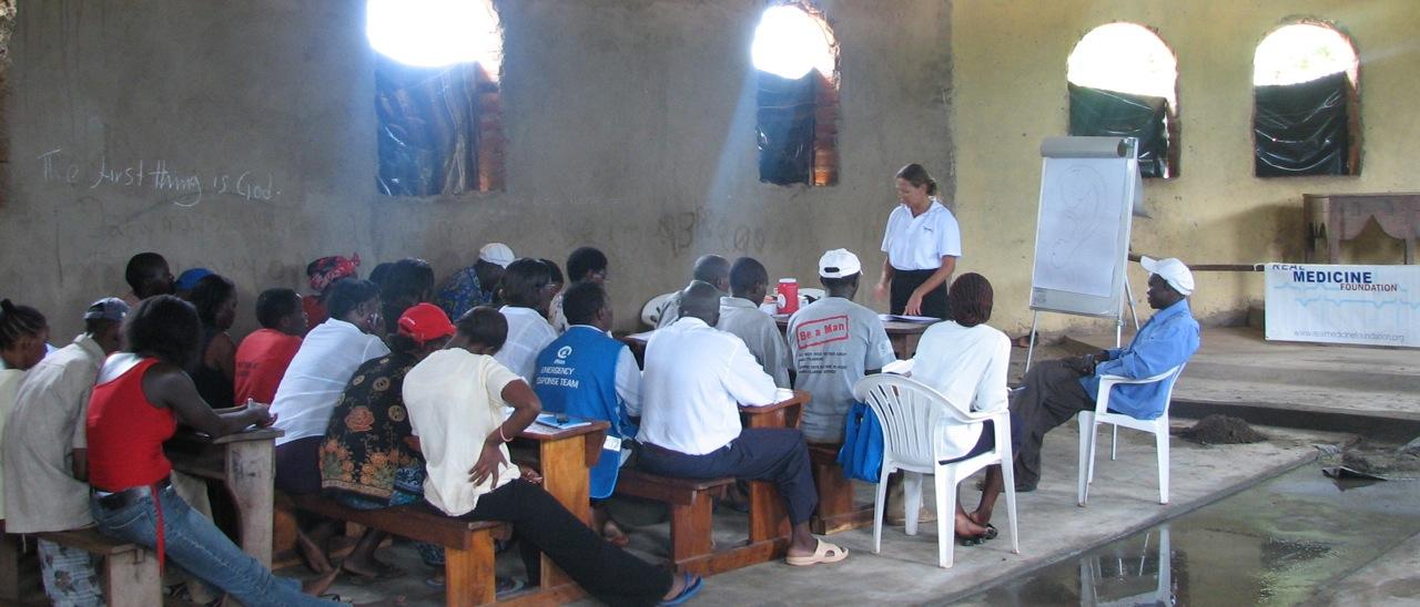 NADA kursus i Kenya