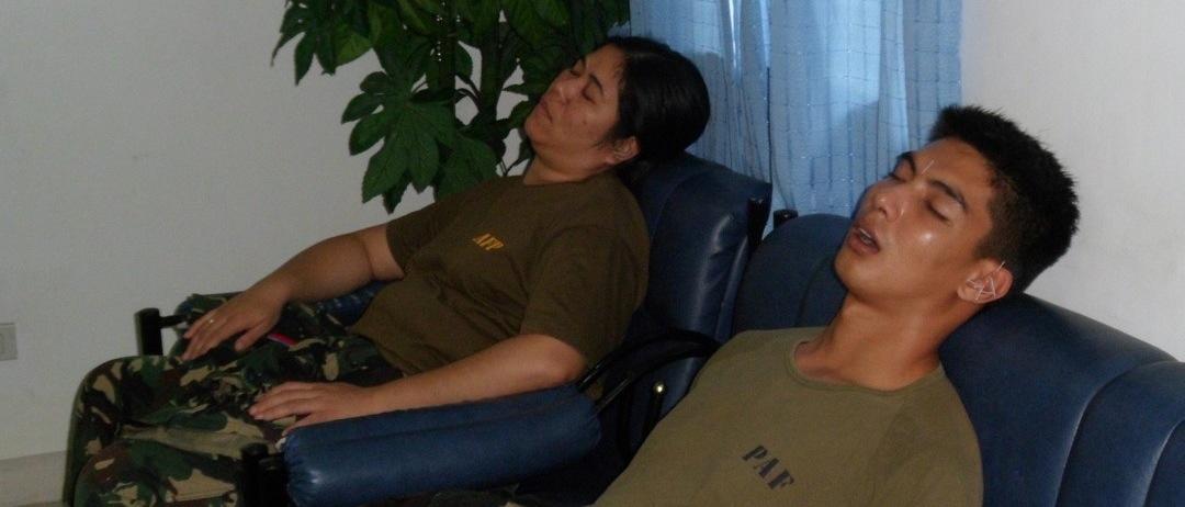 Piloter får NADA mellem flyvninger under tyfonerne i 2013