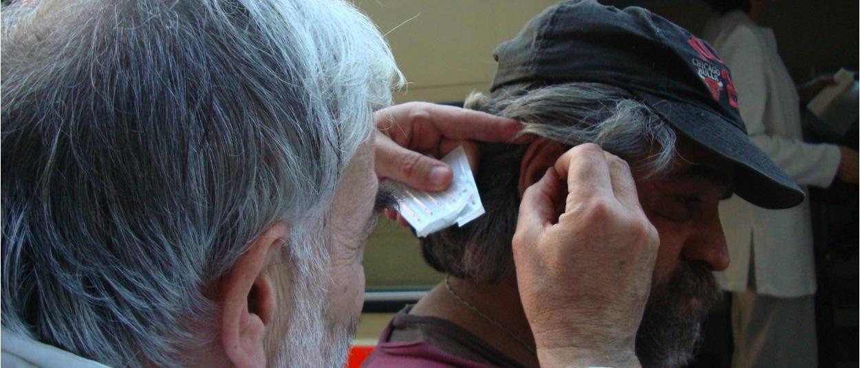 NADA-behandling til hjemløse i Budapest