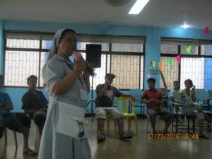 NADA program i kloster