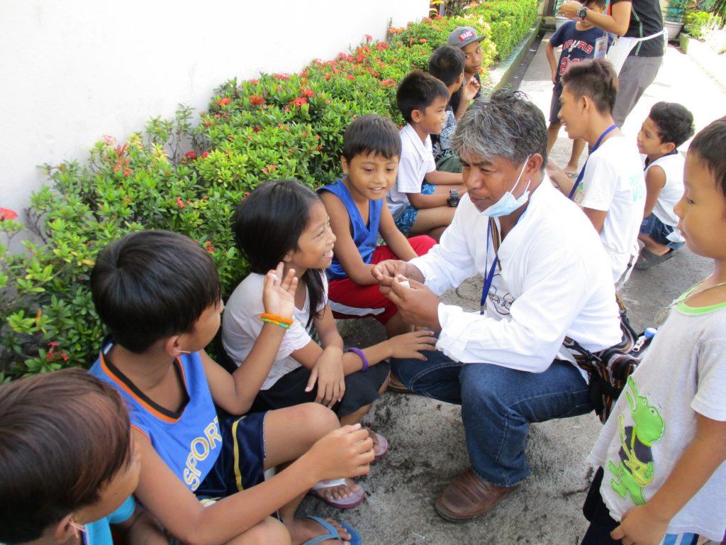 NADA hjælper ofre for vulkanudbrud