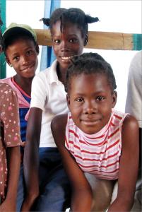 Børn udgør ofte over halvdelen af af ofrene efter naturkatastrofer. Dette var også tilfældet i Haiti i 2010.