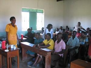 NADA kan gives til en hel klasse inden undervisningen startes. Hermed øges fokusering, koncentration og indlæring.
